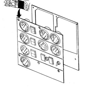 Dash Panel Indicator Parts Manual Example Page