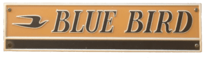 Blue Bird Body Plate Collection