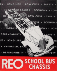 REO School Bus Chassis Collection