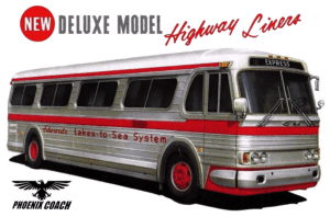 GM PD 4106 New Deluxe Model Highway Liners Collection