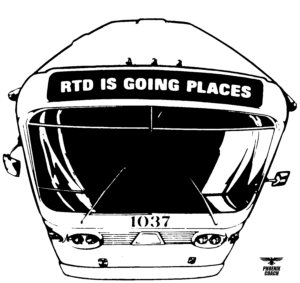 SCRTD Going Places Ad 1975 Collection