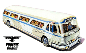 Vintage 4104 Greyhound Lines Collection